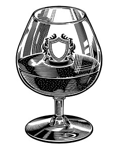 848374 © Free On French Brandy Snifter