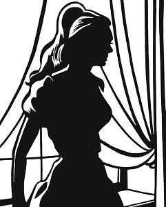 816336 © Free On French Silhouette of Woman