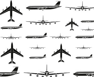 763210D © Free On French Airplane Pattern