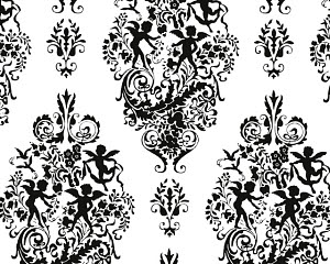 763747A © Free On French Cupid Pattern