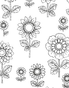 765167A © Free On French Flower Pattern
