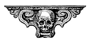 808241 © Free On French Skull Ornament