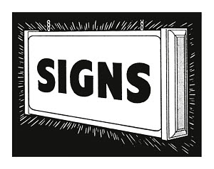 783769 © Free On French Shiny Sign of Signs