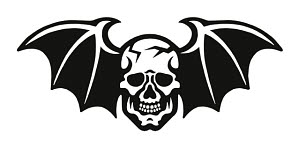 848489 © Free On French Skull with Bat Wings