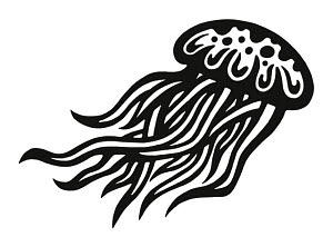 848512 © Free On French Jellyfish