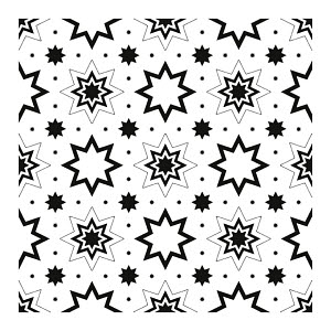 822272 © Free On French Star Pattern
