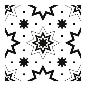 822273 © Free On French Star Pattern