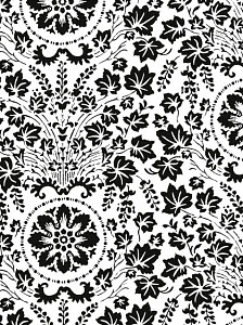 D765292 © Free On French Heavy Floral Pattern