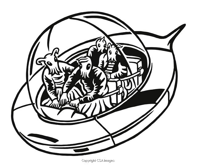 Spacecraft Illustrations